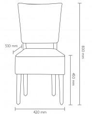chaise rembouré SCHEMA